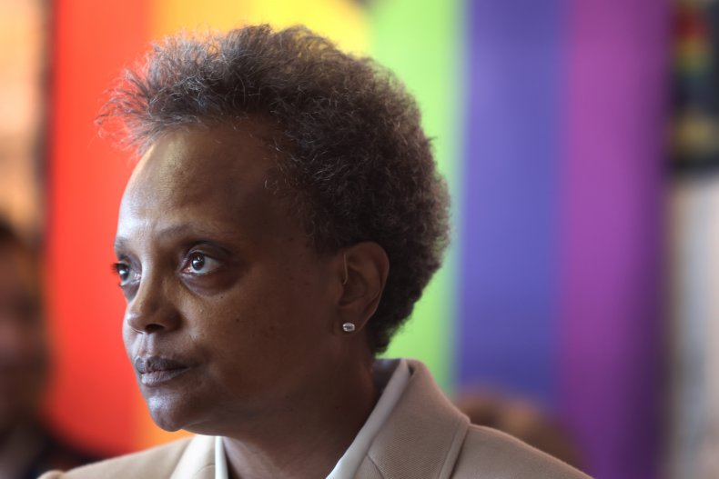 Lightfoot Defends Solo Interviews Reporters of Color