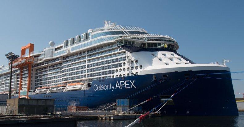 Celebrity cruise ship COVID 19 positive test