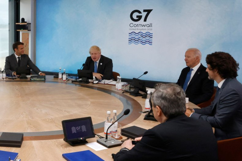 G7 leaders focus on COVID's 2022 end