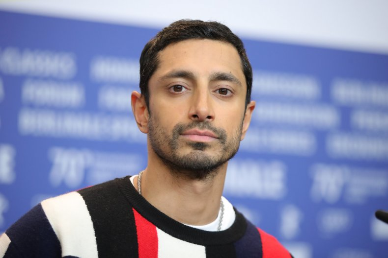 Riz Ahmed attends a Berlin press conference