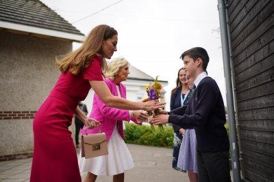 Jill Biden and Kate Middleton