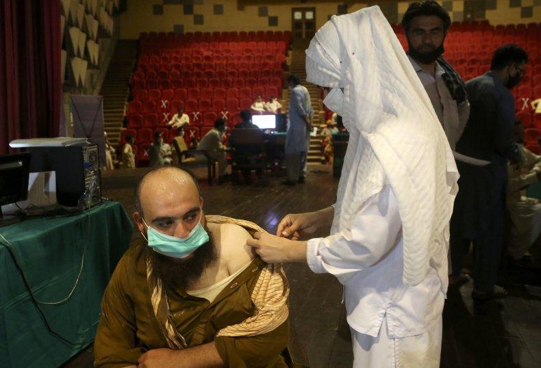 Pakistan Vaccination Site
