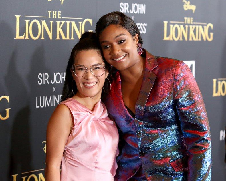 Tiffany Haddish and Ali Wong