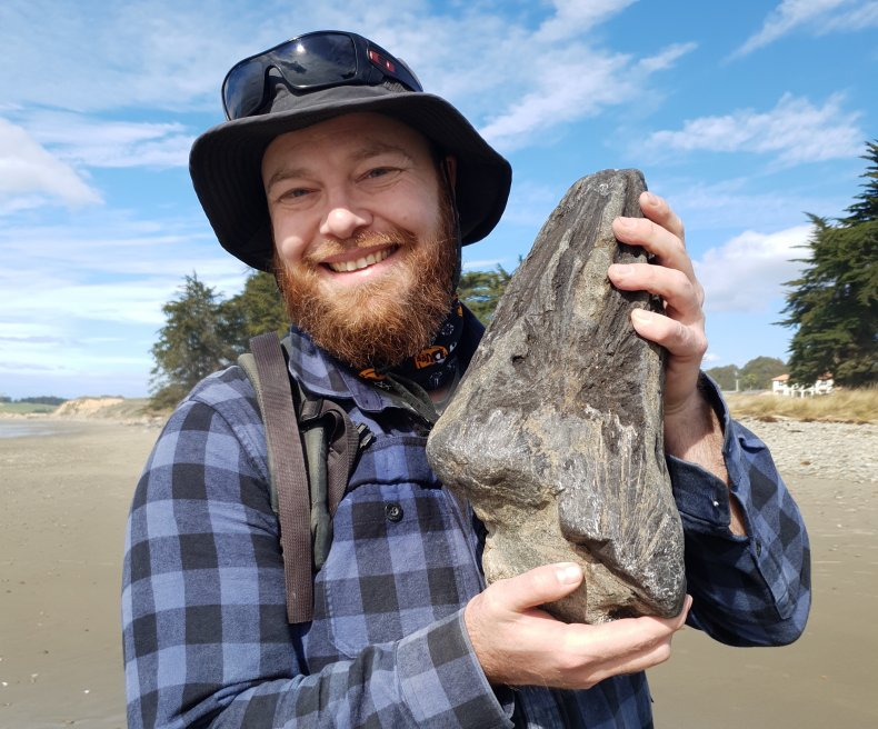 The creator of MamlamboFossils YouTube channel
