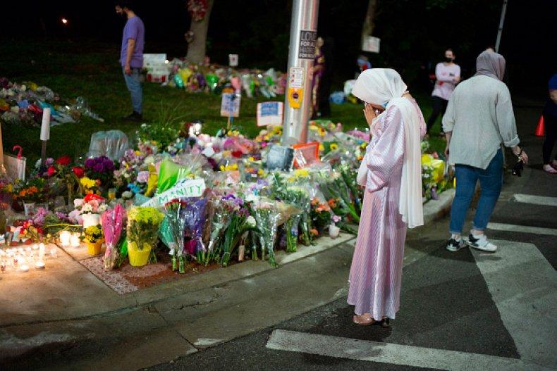 Muslim Hate Crime Canada London GoFundMe Attack