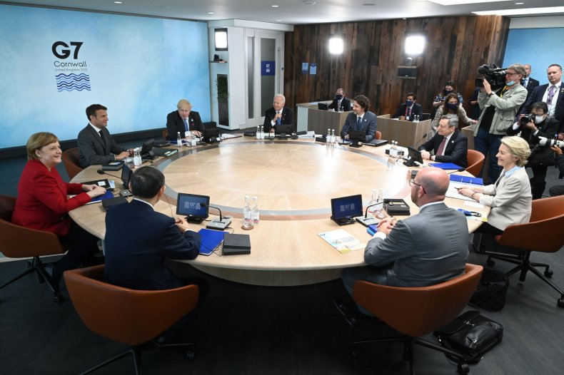 G7 Summit Discussions