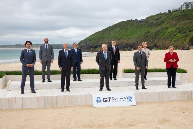 G7 summit leaders