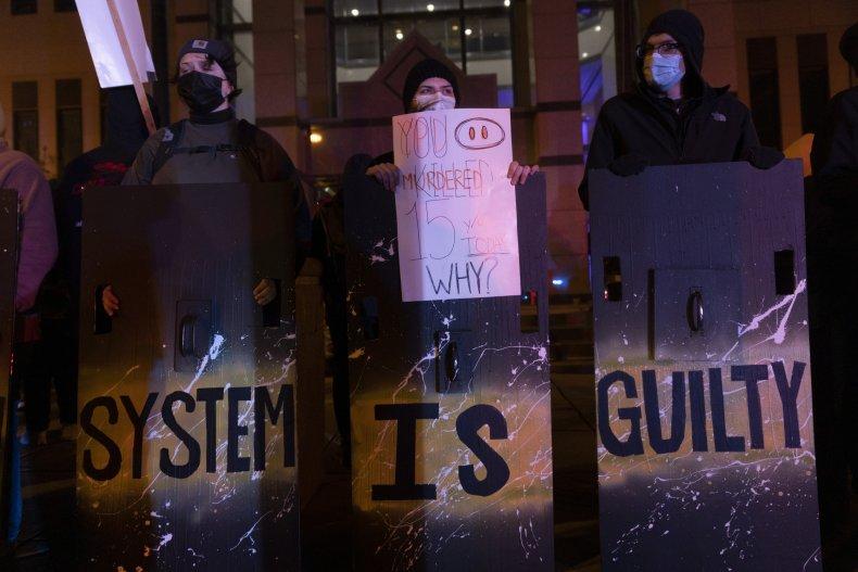 BLM protest in Columbus