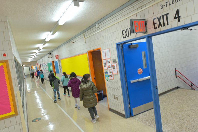 New York school reopening