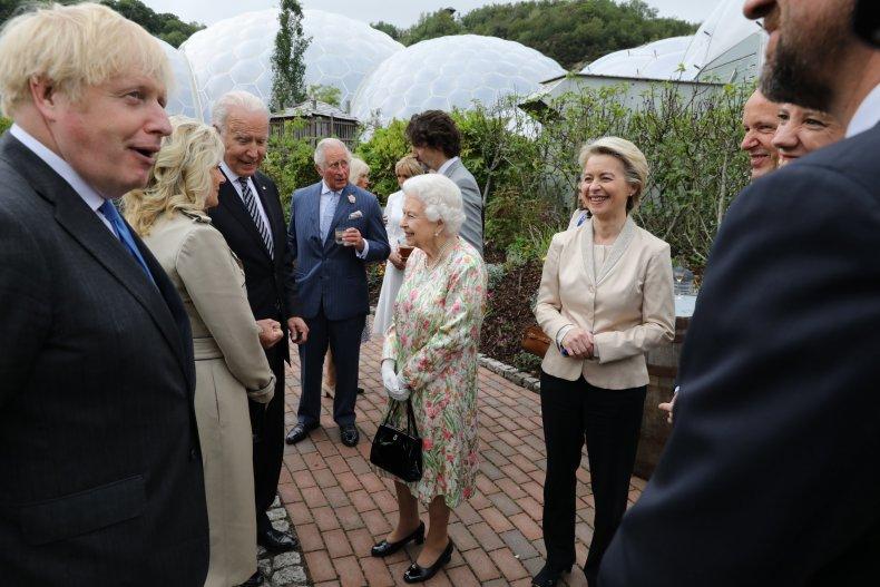 G7 Royal Family Reception