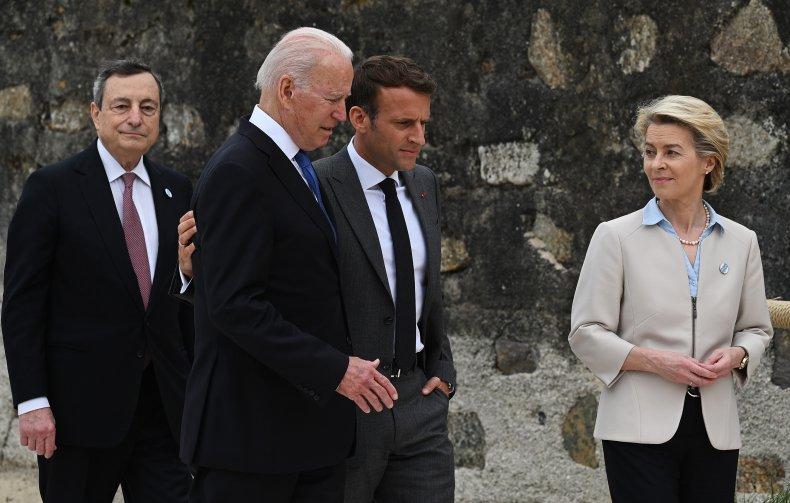 Biden and Macron Speak