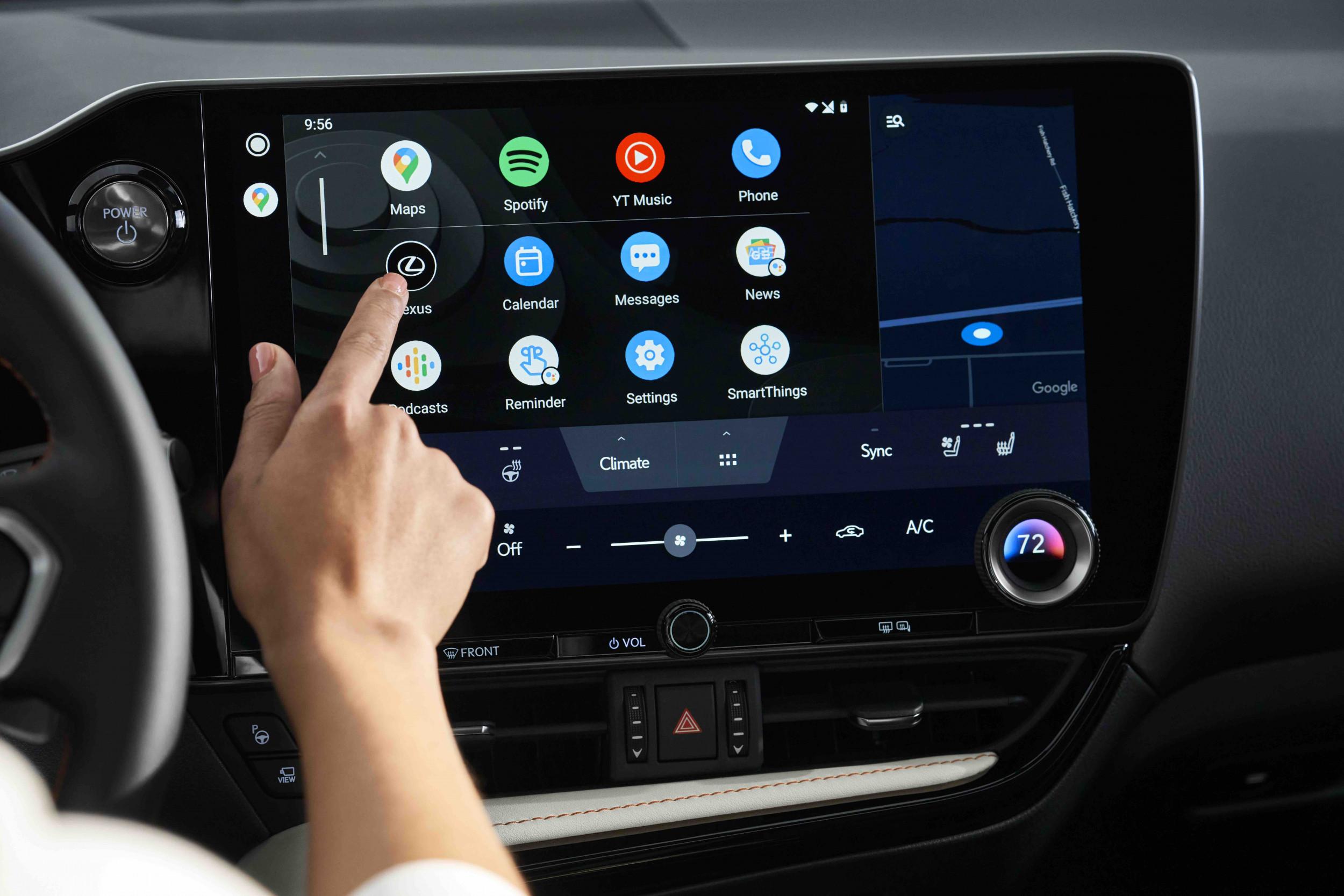 Lexus Toyota infotainment system 2021