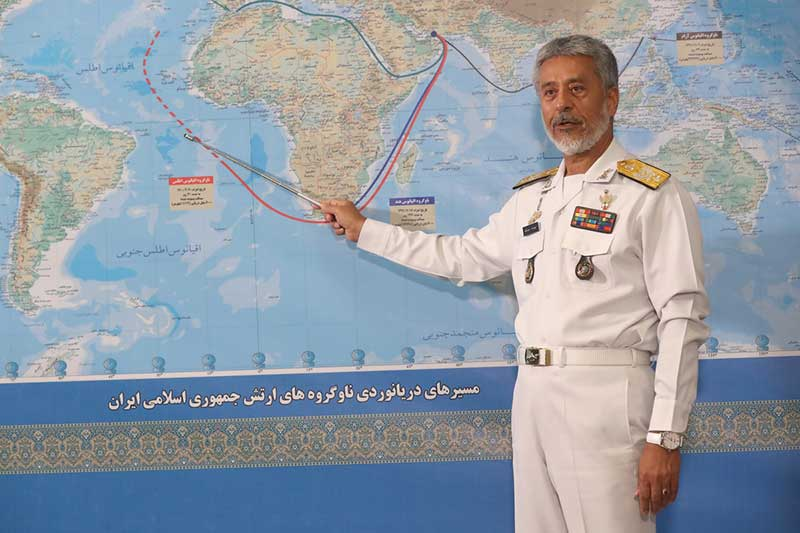 U.S. Military 'Keeping an Eye' on Iran Navy Sent to Atlantic to 'Protect Interests' – Newsweek
