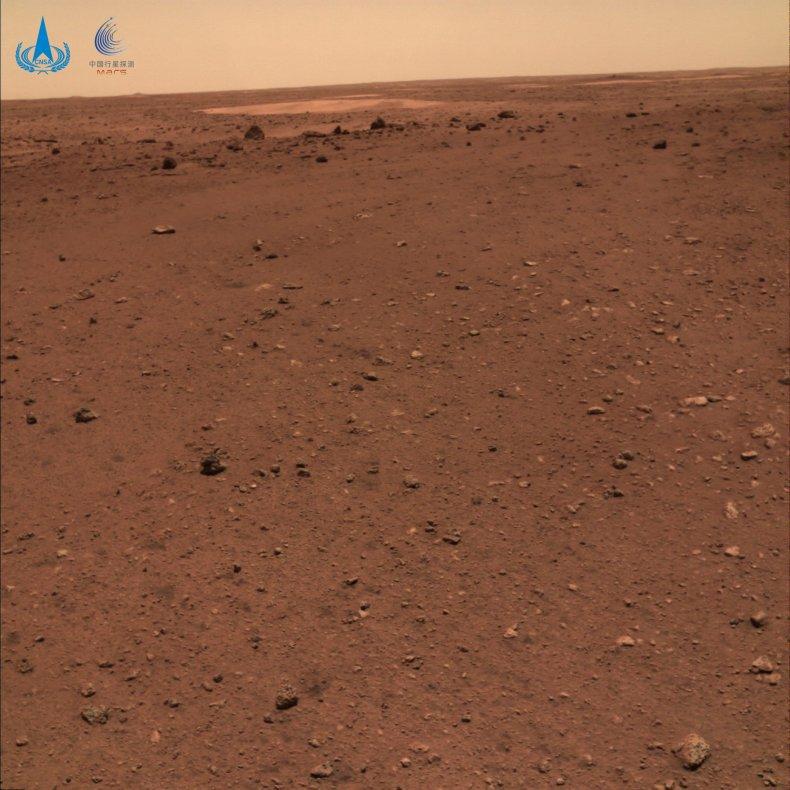 China Mars Rover Beams Back Historic Images