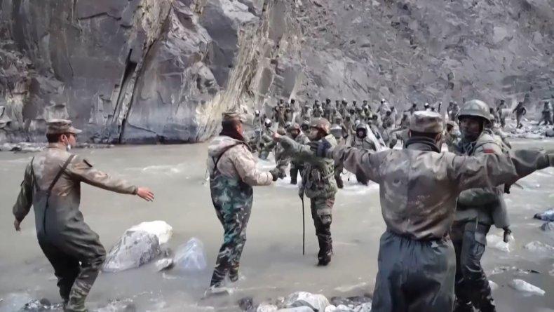China Border Clash Hero Speaks At Ceremony