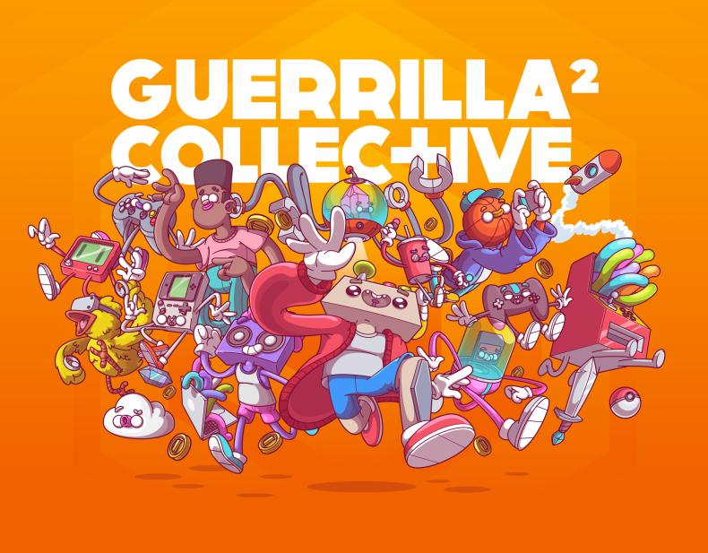The Offical 2021 Guerrilla Collective Logo