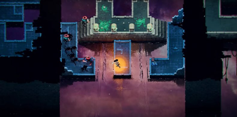 A Player Shifts the Environment to Escape