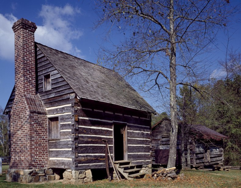 Out buildings at the Latta Plantation in