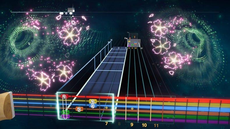 Un guide musical visuel dans Rocksmith Plus