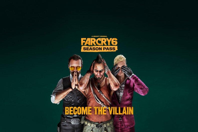 Oeuvre officielle de la saison Far Cry 6