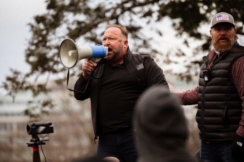 Alex Jones faces calls for arrest