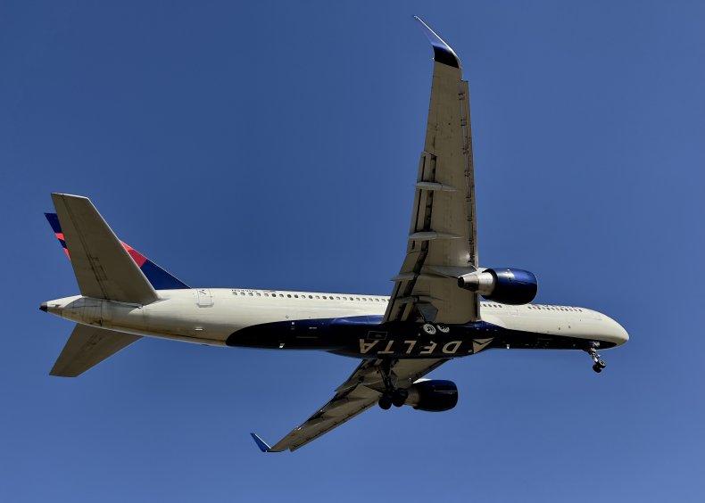 Delta airlines pilot deals with problem passenger