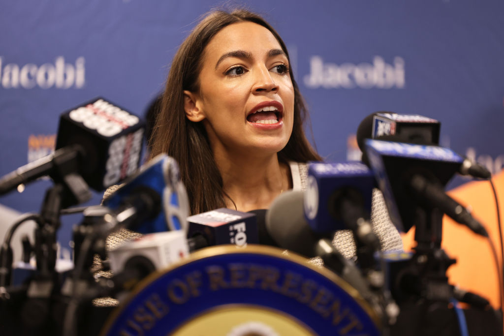 AOC Calls Out Senate Democrats for 'Blocking Crucial Items' in the Party's Agenda