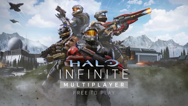 Promotional Artwork for Halo Infinite's Free Multiplayer