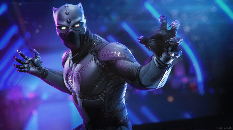Black Panther Appears in Marvel's Avenger's Expansion