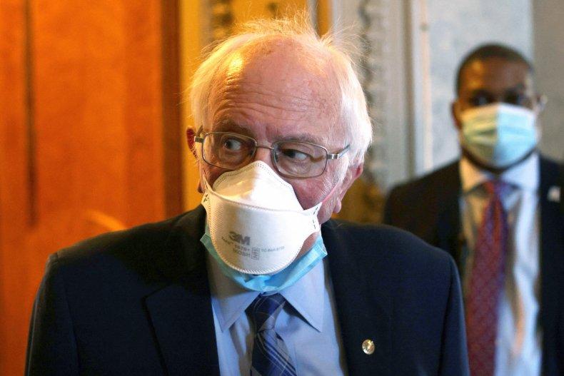 Bernie Sanders praises Biden, not Clinton