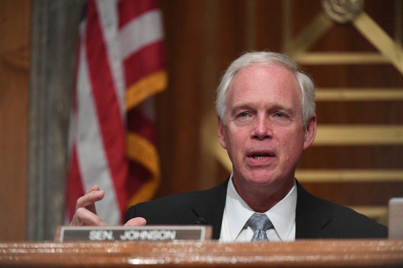 Ron Johnson downplays Capitol riot