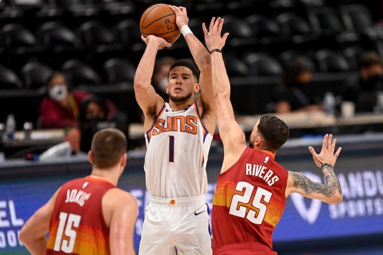 Devin Booker of the Phoenix Suns