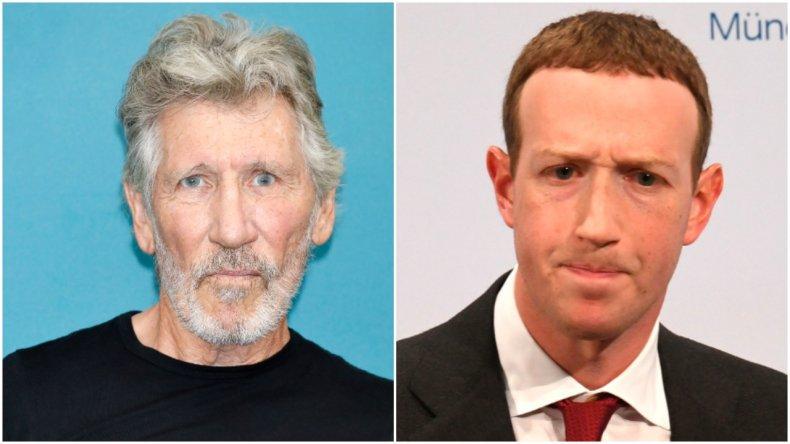 Roger Waters and Mark Zuckerberg