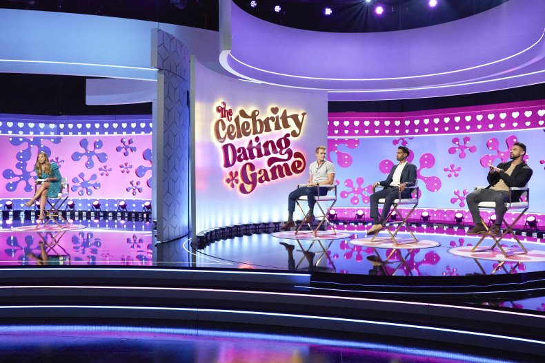 The Celebrity Dating Game new set