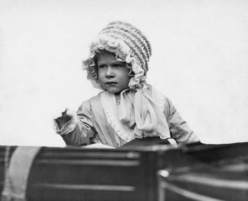 Queen Elizabeth II as a Toddler