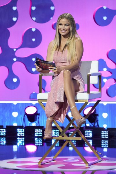 Carmen Electra on The Celebrity Dating Game