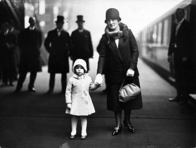 Queen Elizabeth II in Childhood
