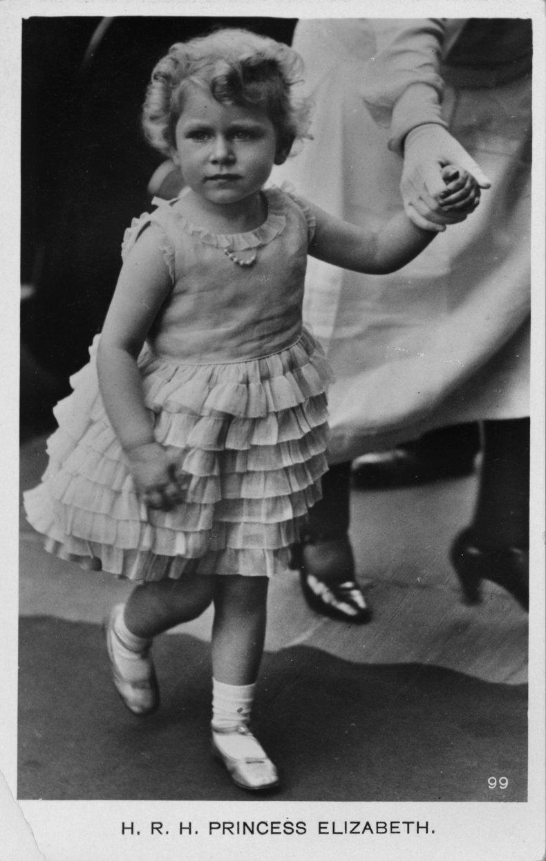 Queen Elizabeth II Aged 4