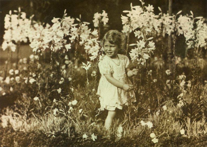 Queen Elizabeth II Photographed by George VI