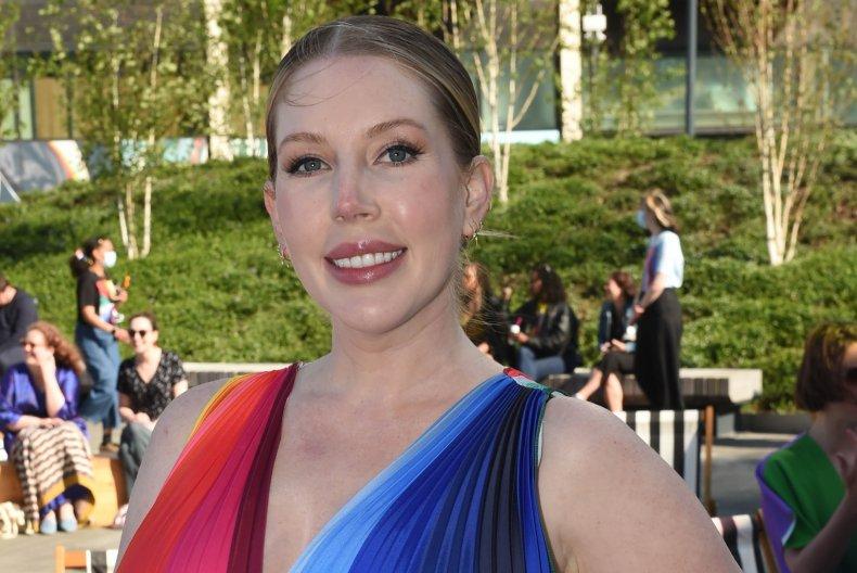 Katherine Ryan gives birth