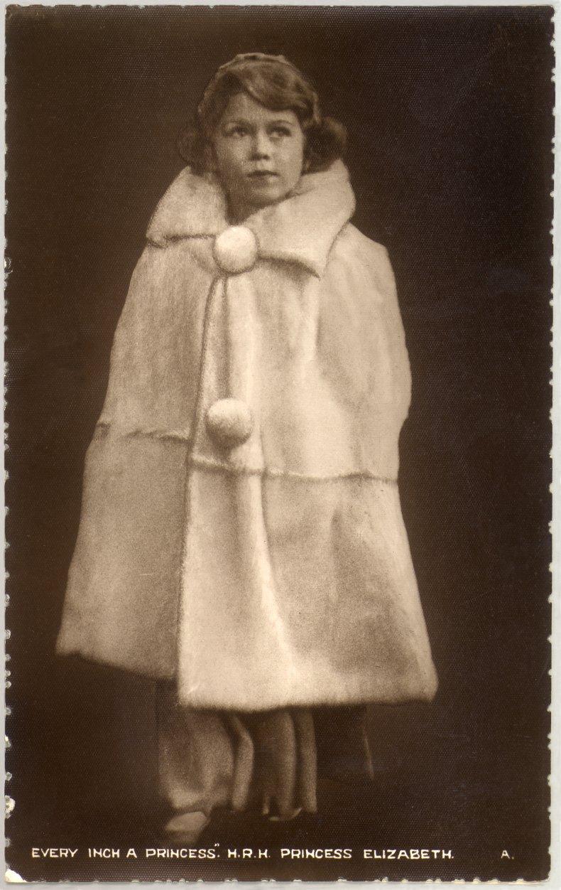 Queen Elizabeth II in Winter Coat