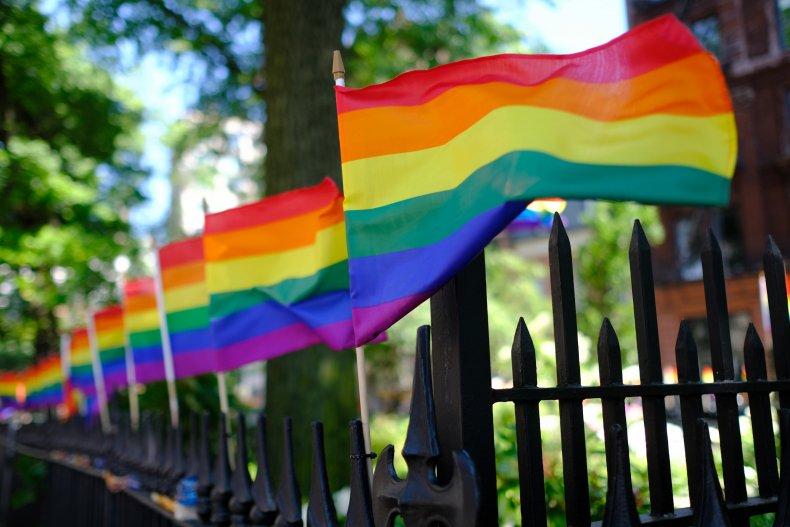 Pinkerton's using a Pride flag avatar