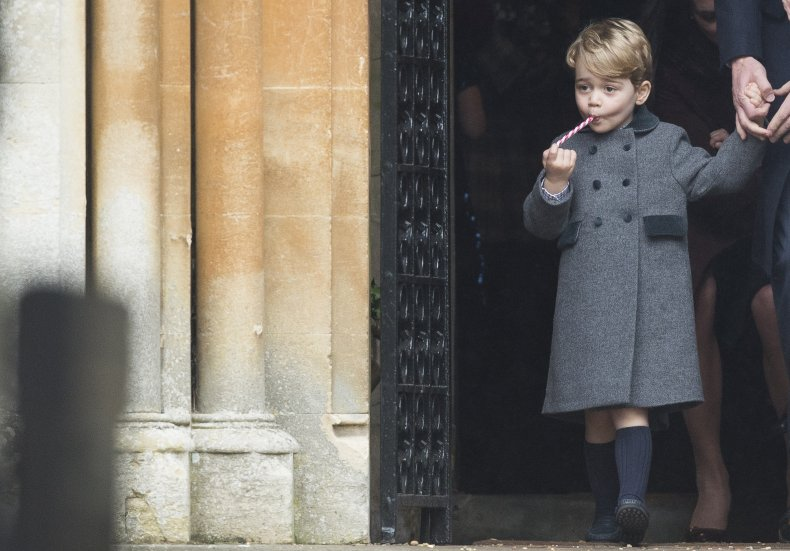 Prince George at Middleton Family Christmas