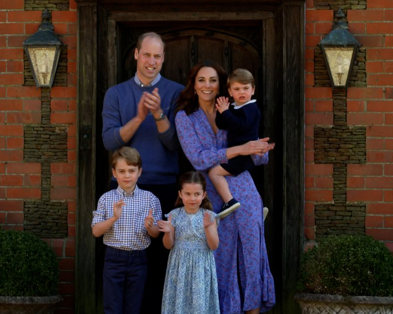 Prince William, Kate Middleton Clap for Carers