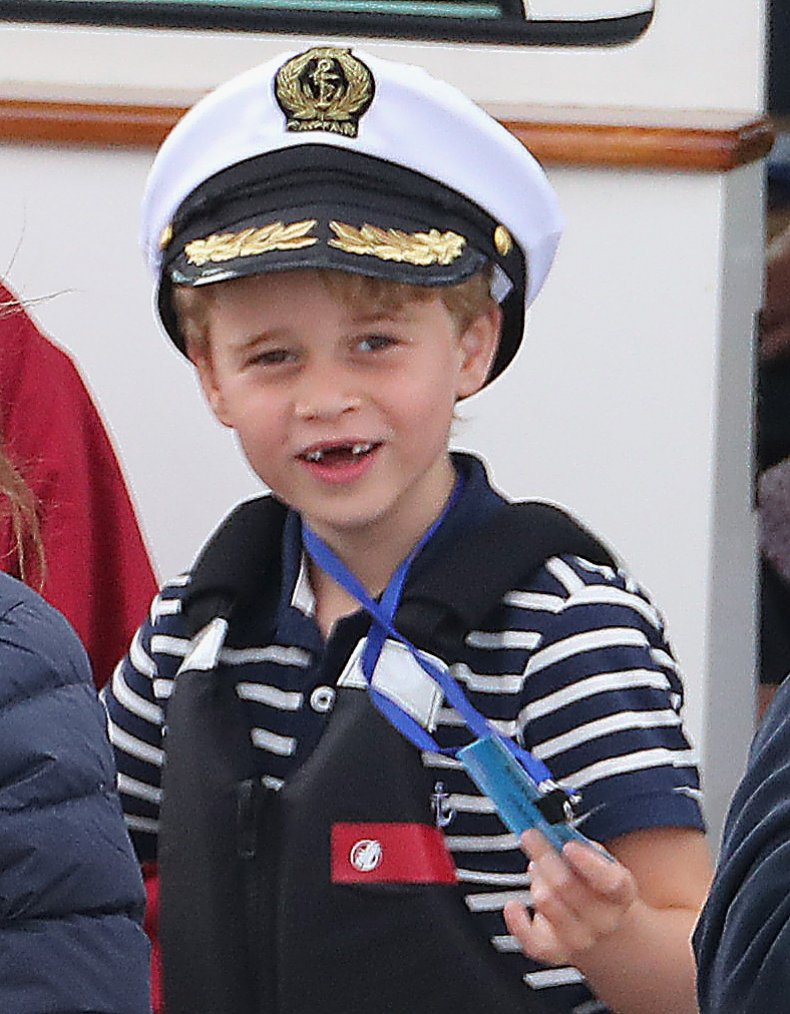 Prince George in Sailor Outfit