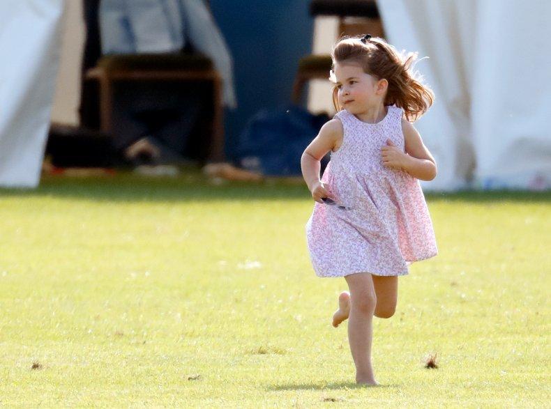 Princess Charlotte at the Polo
