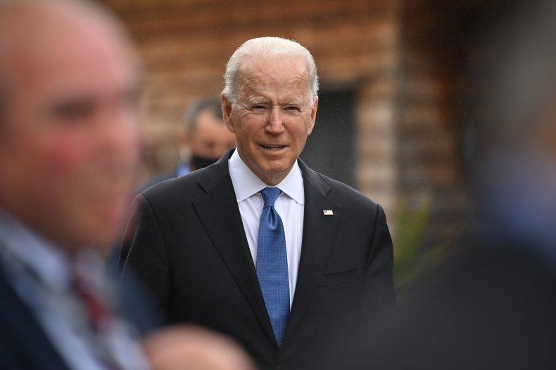 Joe Biden at G7 Summit