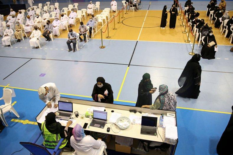 COVID-19 Vaccine Rollout Oman