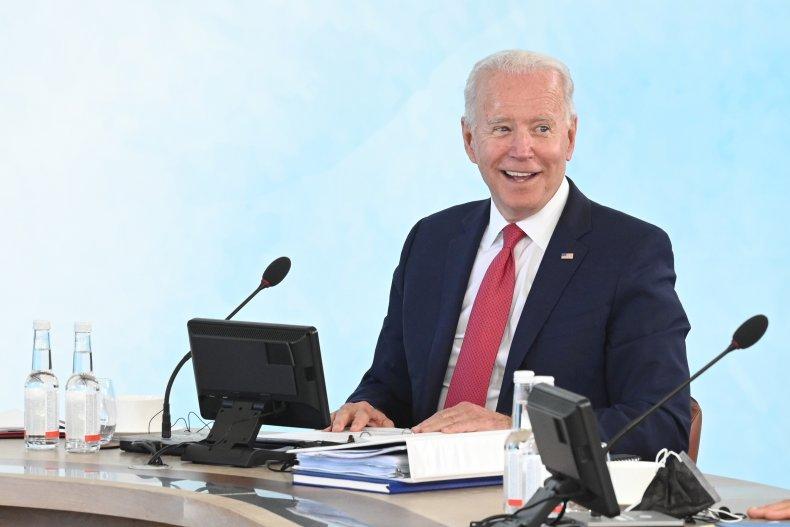Biden at G7 Summit
