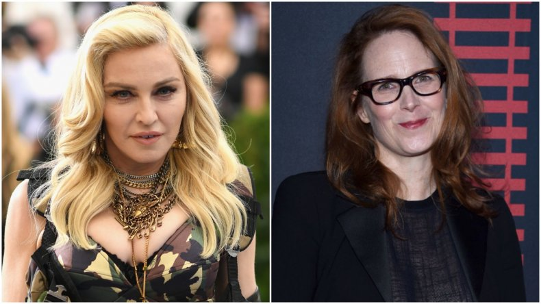 Madonna and screenwriter Erin Wilson